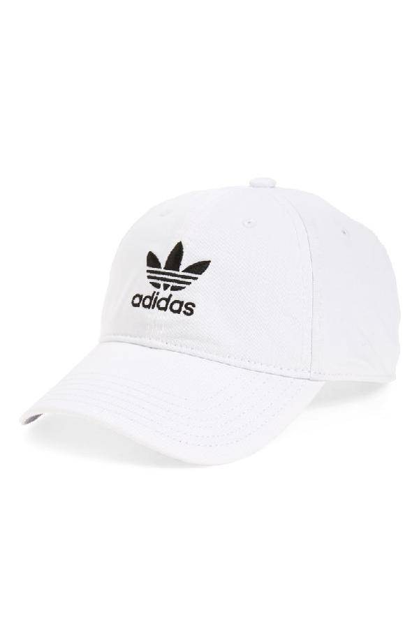 a262b76b4bd2b Adidas Originals Originals Precurved Washed Strapback Hat