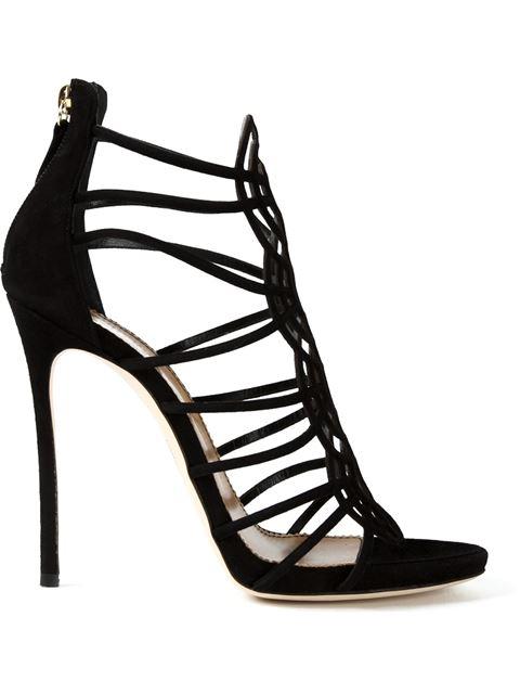 Dsquared2 Strappy Sandals In Black