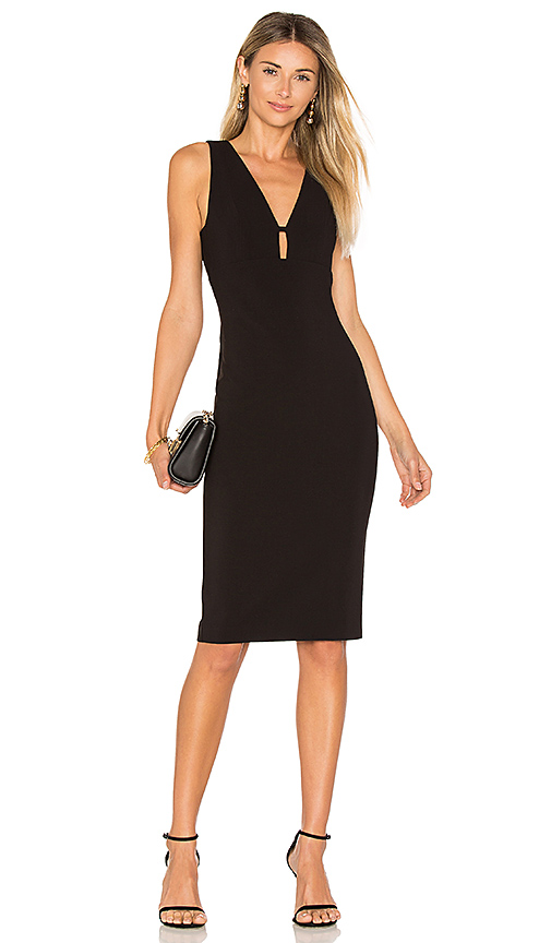 Likely Albury Cutout Dress In Black