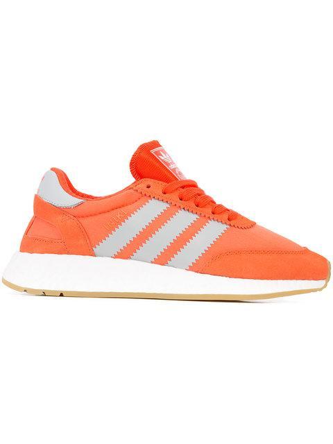 new arrival 83996 50de2 Adidas Originals Adidas Women s Iniki Runner Originals Running Shoe In  Orange