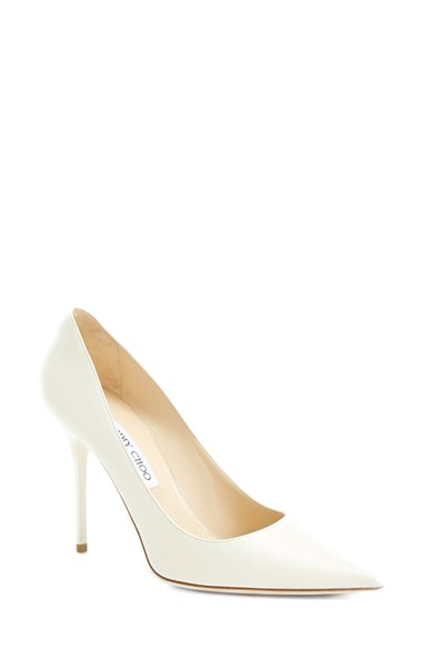 Jimmy Choo 'Abel' Pump (Exclusive Color) In Off White