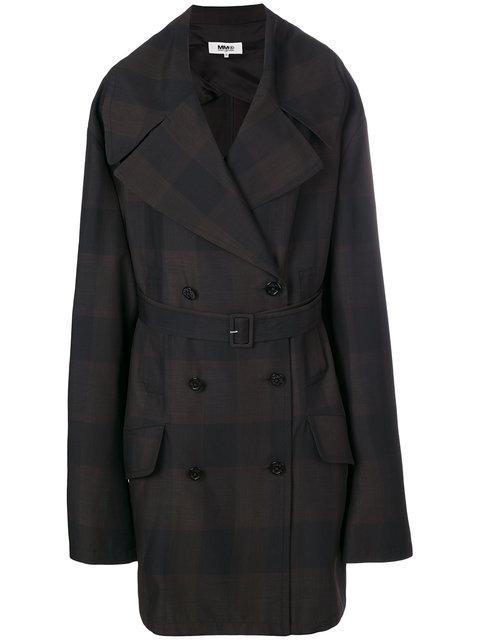 Mm6 Maison Margiela Oversized Sleeve Coat