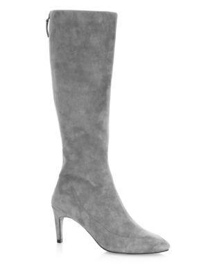 Cole Haan Women's Arlean Suede Tall Boots In Storm Cloud