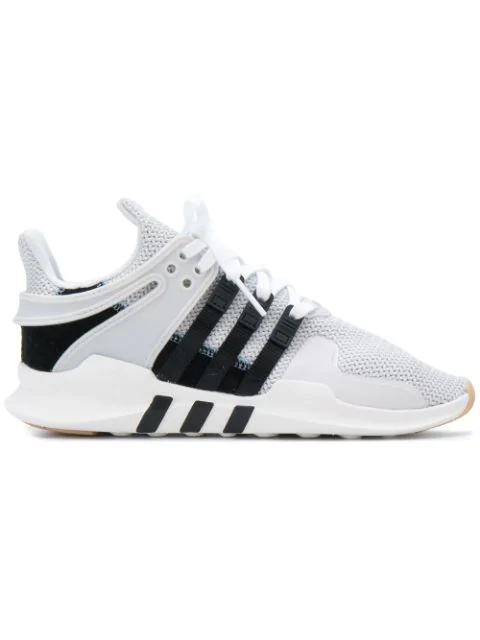 Adidas Originals Eqt Support Adv Sneakers In Gray - Gray In White