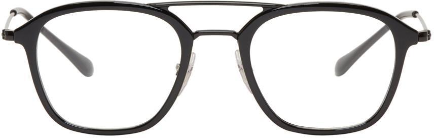 Ray Ban Ray-ban Black Highstreet Glasses In 5725 Black