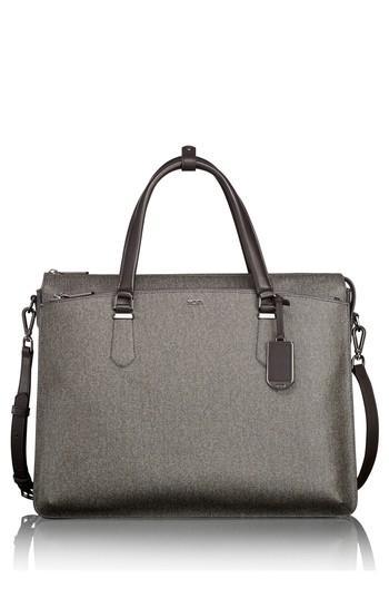 Tumi Nita Commuter Briefcase - Grey In Earl Grey