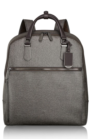 Tumi Sinclair Odell Convertible Backpack In Earl Grey