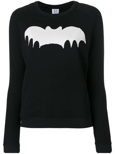 Zoe Karssen Batman Sweatshirt - Black