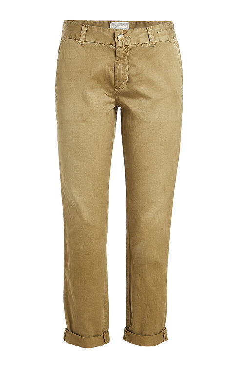 Current Elliott The Buddy Cotton Chinos In Green