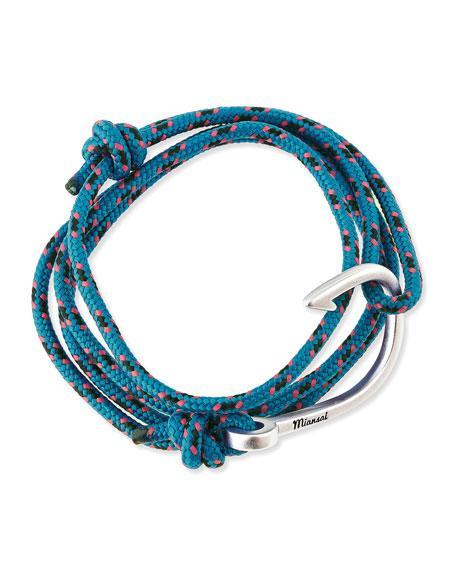 Miansai Hook Rope Bracelet, Caribbean In Carribean