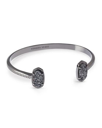 Kendra Scott Elton Druzy-tip Bracelet In Gold