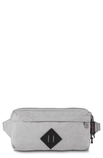 Jansport Waisted Waist Pack In Grey Heathered Poly