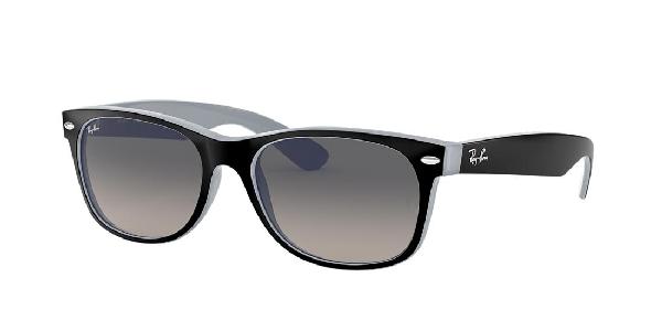 Ray Ban Ray-ban New Wayfarer Sunglasses, Rb34292132 58 In Grey-black