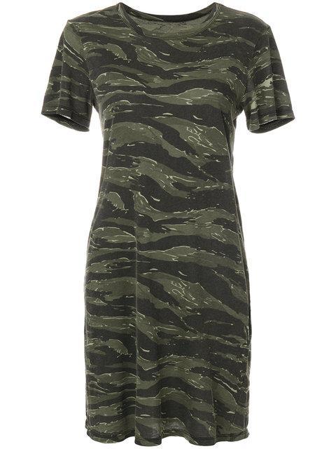 Current Elliott Short-sleeved Camouflage Dress