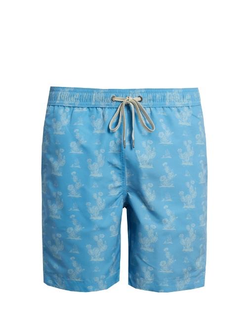 "Onia Charles 7"" Swim Shorts In Blue"