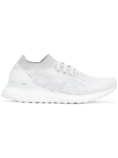 Adidas Originals Ultra Boost Uncaged Primeknit Trainers In White