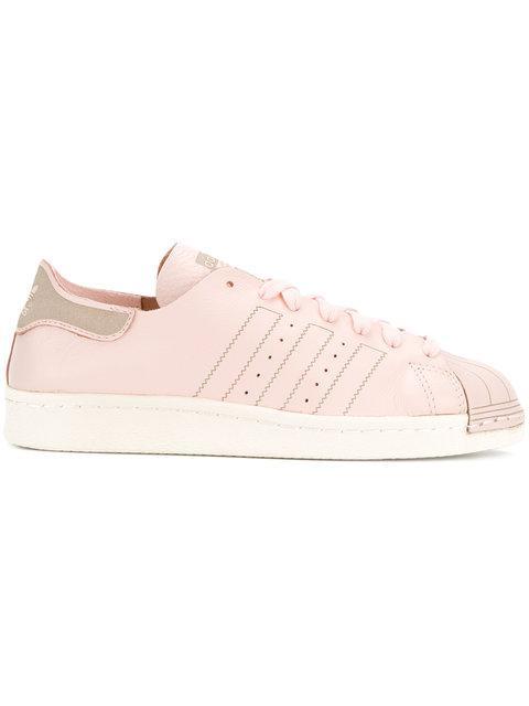 Adidas Originals 'superstar 80's Deacon' Sneakers In Pink