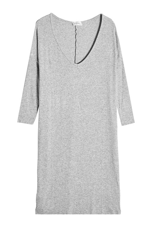 American Vintage Dress With Wool In Grey