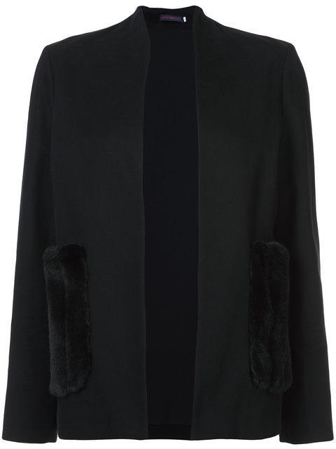 Harvey Faircloth Pocket Detail Blazer
