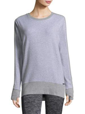 Blanc Noir Social Sweatshirt In Heather Grey