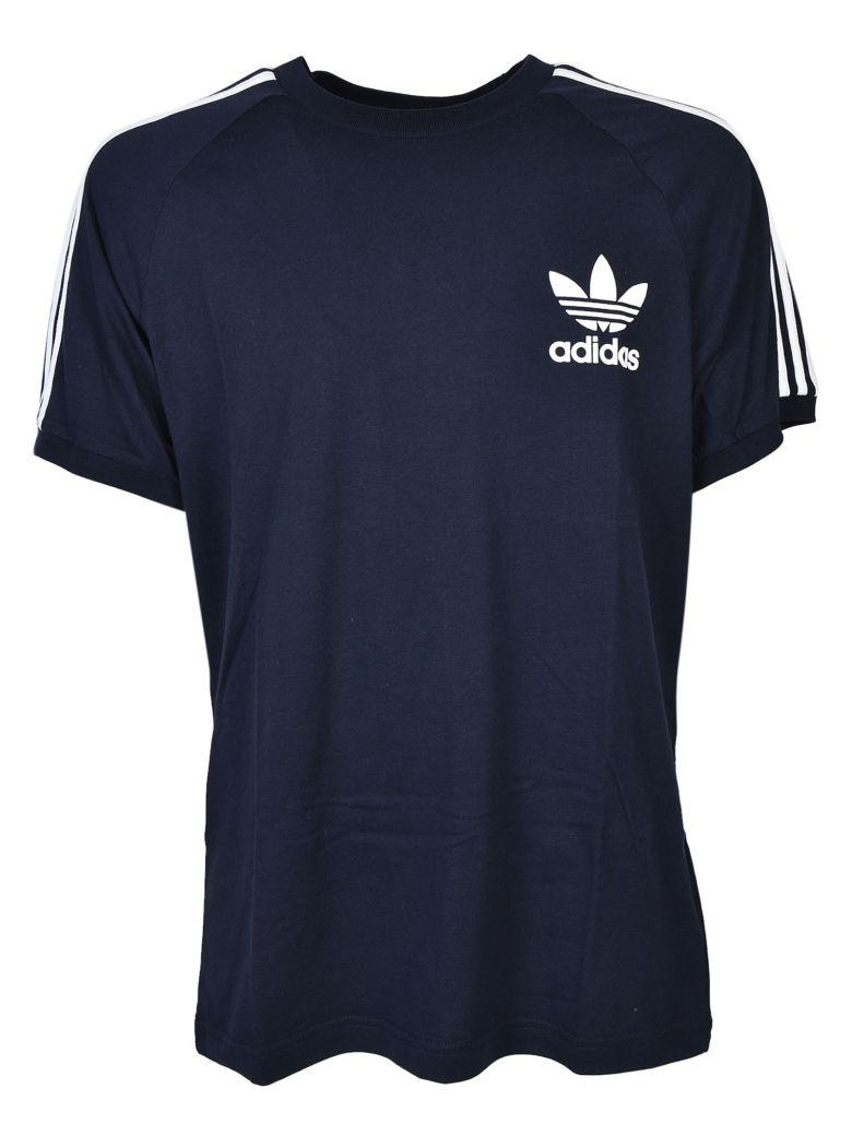 Adidas Originals Printed T-shirt In Navy