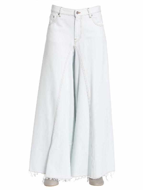 Mm6 Maison Margiela Extra Wide-leg Jeans In Denim