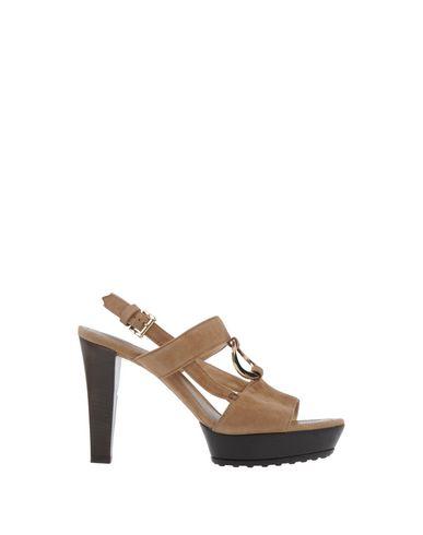 Tod's Sandals In Khaki