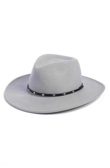 Frye Roper Western Hat - Grey In Graphite