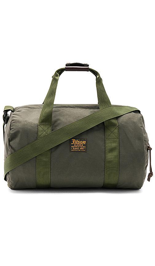 Filson Barrel Duffel Bag - Green In Otter Green