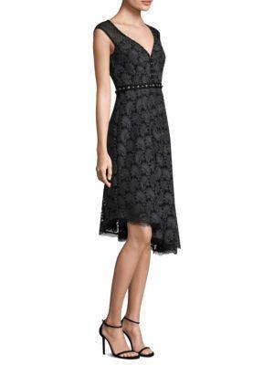 Nanette Lepore Beatrice Sweetheart-neck Paisley Jacquard Dress In Grey
