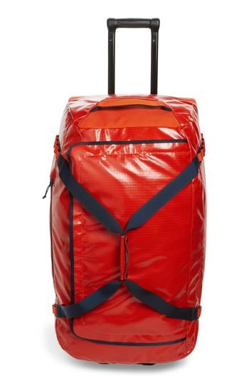 Patagonia 'black Hole(tm)' Rolling Duffel Bag - Red In Paintbrush Red