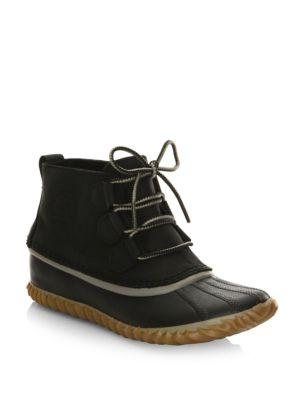 Sorel Out N About™ Leather Bootie In Elk
