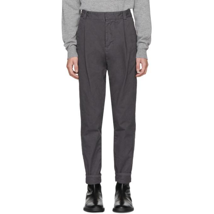 Robert Geller Grey Casual Dress Trousers In 088 - Grey