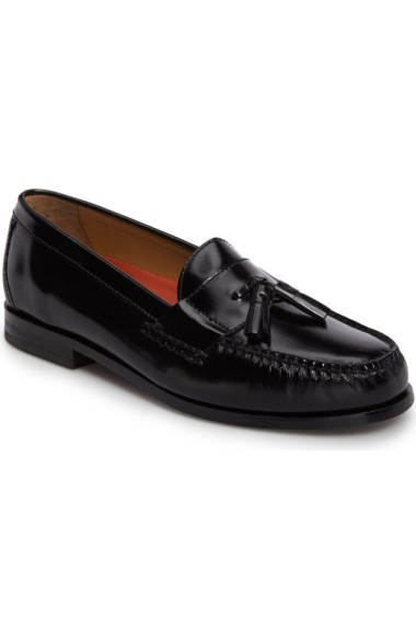 Cole Haan 'Pinch Grand' Tassel Loafer In Black Leather