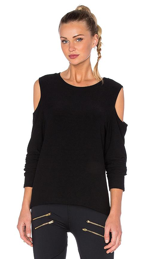 Varley Del Mar Sweatshirt In Black