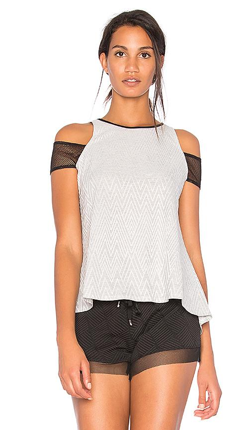 Lukka Lux Tephra Top In Gray