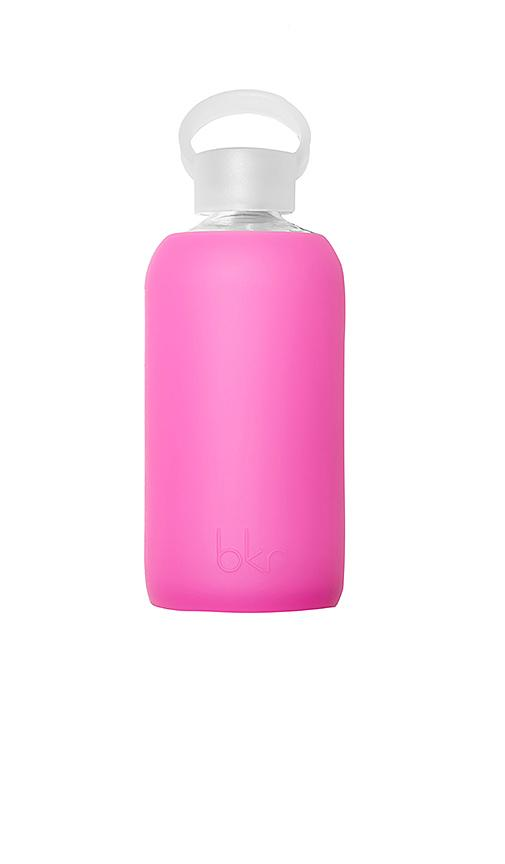 Bkr Baby 500ml Water Bottle In Fuchsia