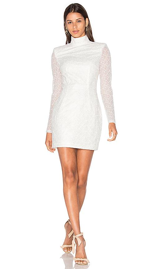 Misha Collection Riccadonna Dress In White