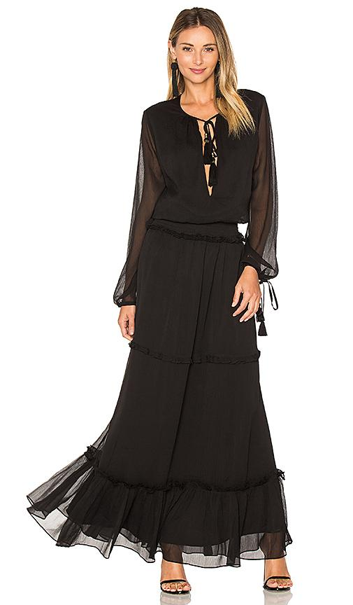 Ale By Alessandra X Revolve Sabina Maxi Dress In Black