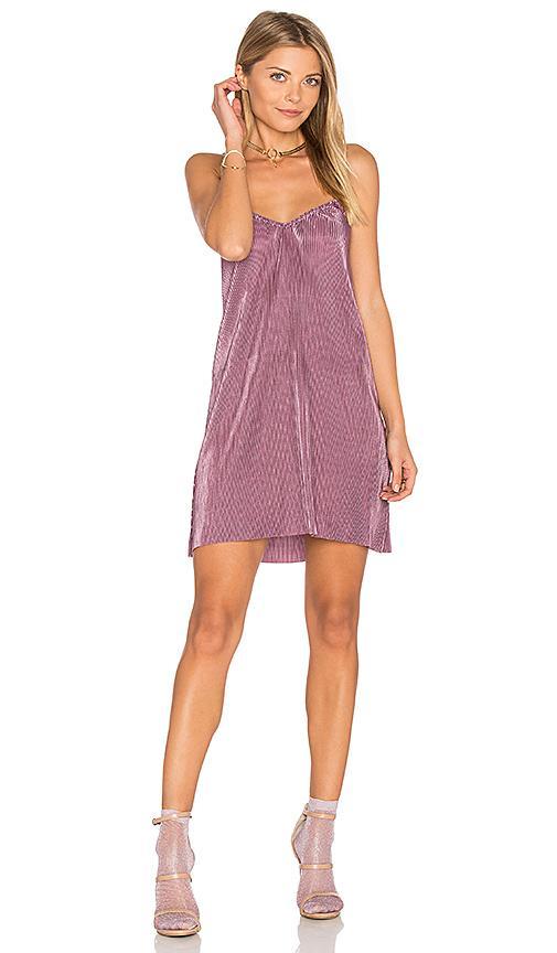 Motel Slip Dress In Purple