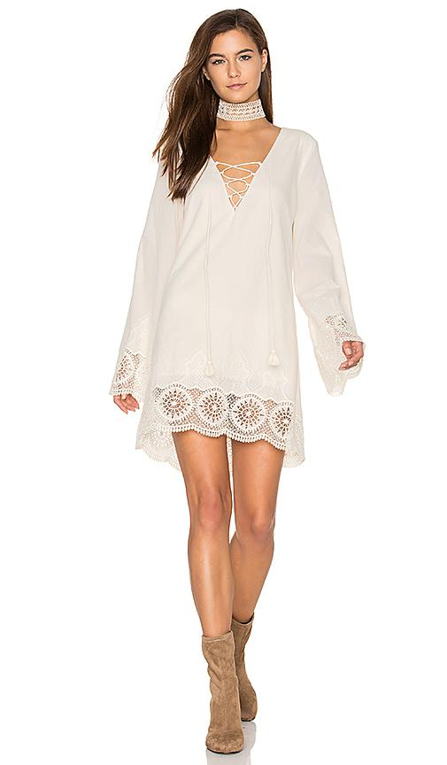 The Jetset Diaries Cisterna Tunic In Pearl