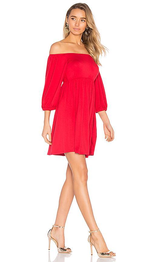 Rachel Pally Nan Dress In Red