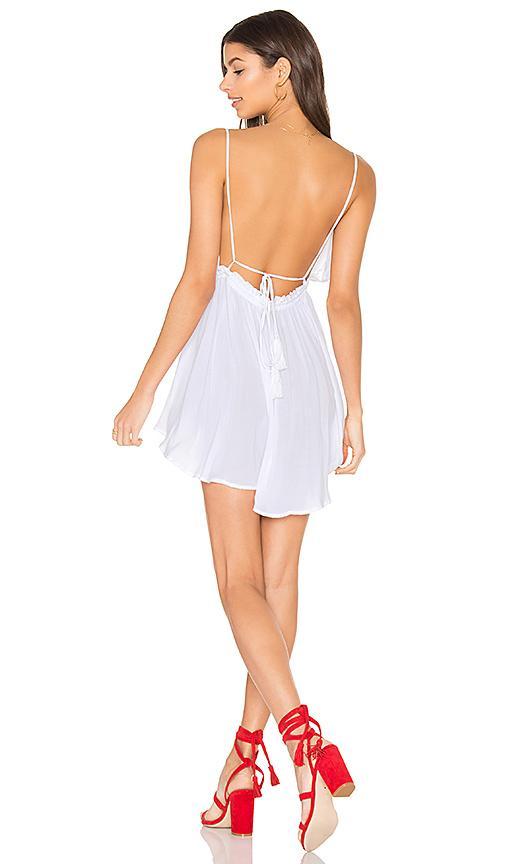Indah Tahani Dress In White.