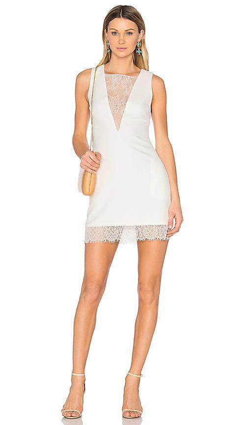 Nbd Warrant Dress In White