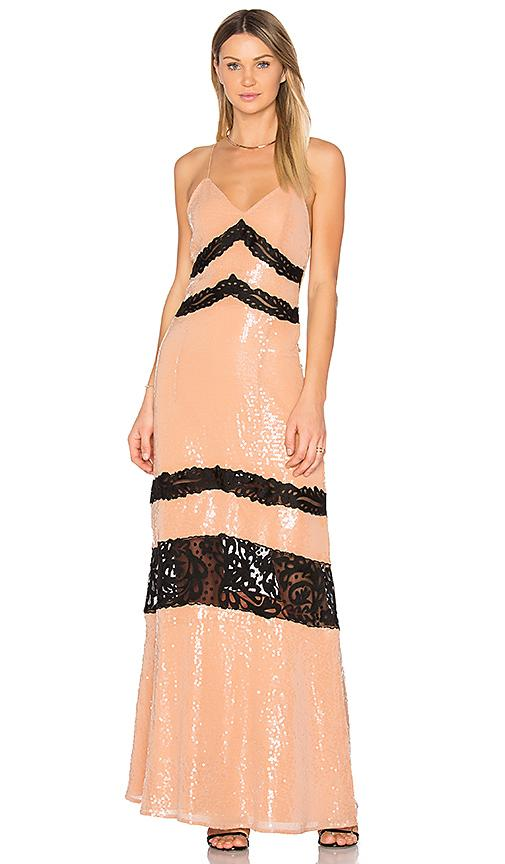X By Nbd Miles Maxi In Beige
