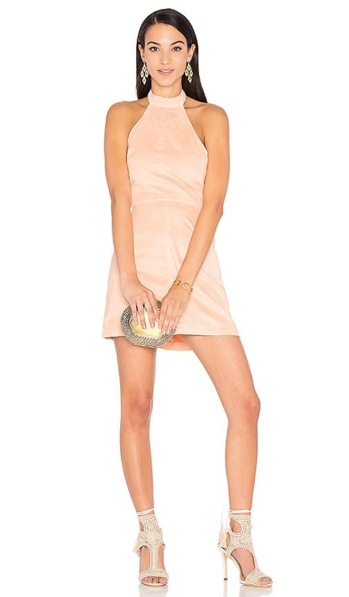Wyldr Infinity Dress In Blush
