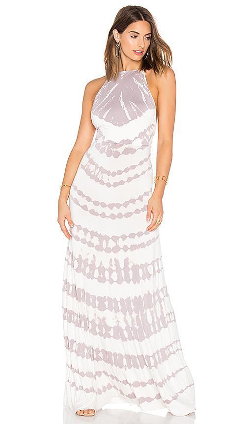 Young Fabulous & Broke Megan Maxi Dress In Lavender