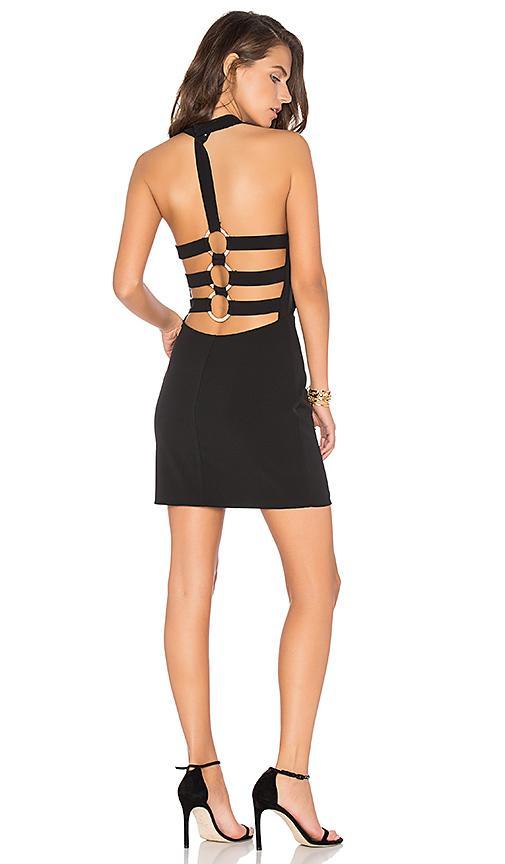 Nbd Fiona Dress In Black