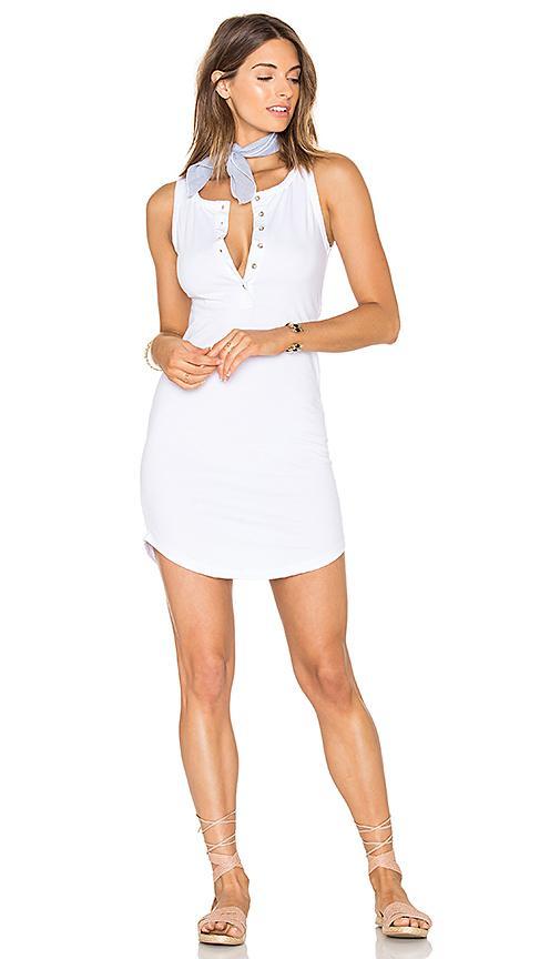 Zulu & Zephyr Dew Slip Dress In White