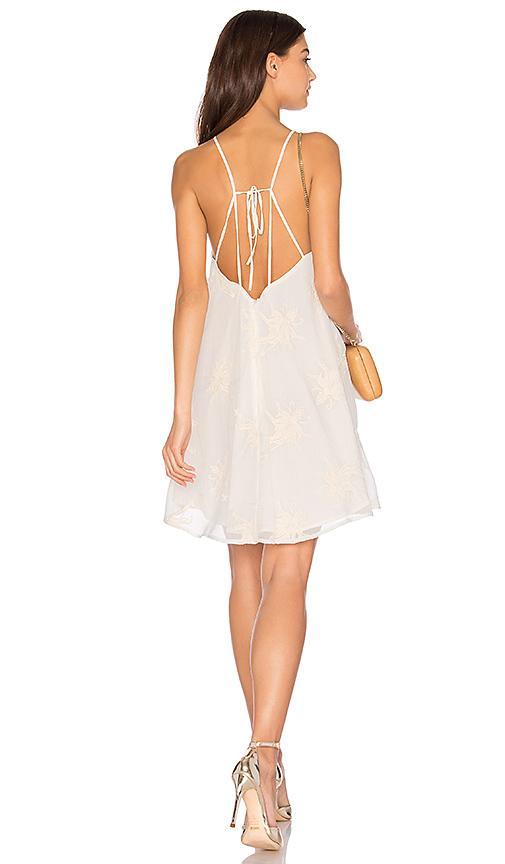 Astr Cecilia Dress In White